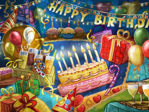 Поздравления с днём рождения от класса ученицы